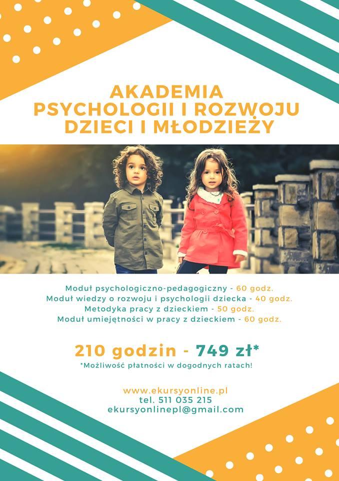AKADEMIA PSYCHOLOGII I ROZWOJU DZIECI I MŁODZIEŻY