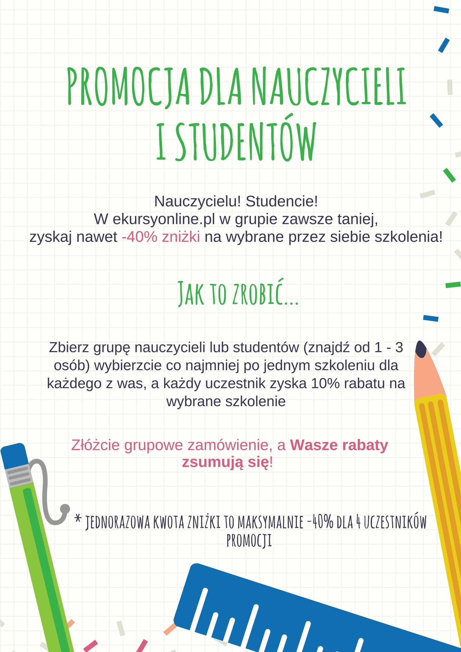 Promocja dla Nauczycieli i Studentów