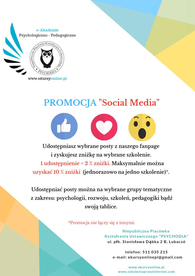 Promocja Social Media